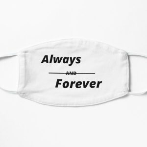 Always,forever,friendship, celebration day,birthday,anniversary, family,love,promise Flat Mask RB2904product Offical Vampire Diaries Merch