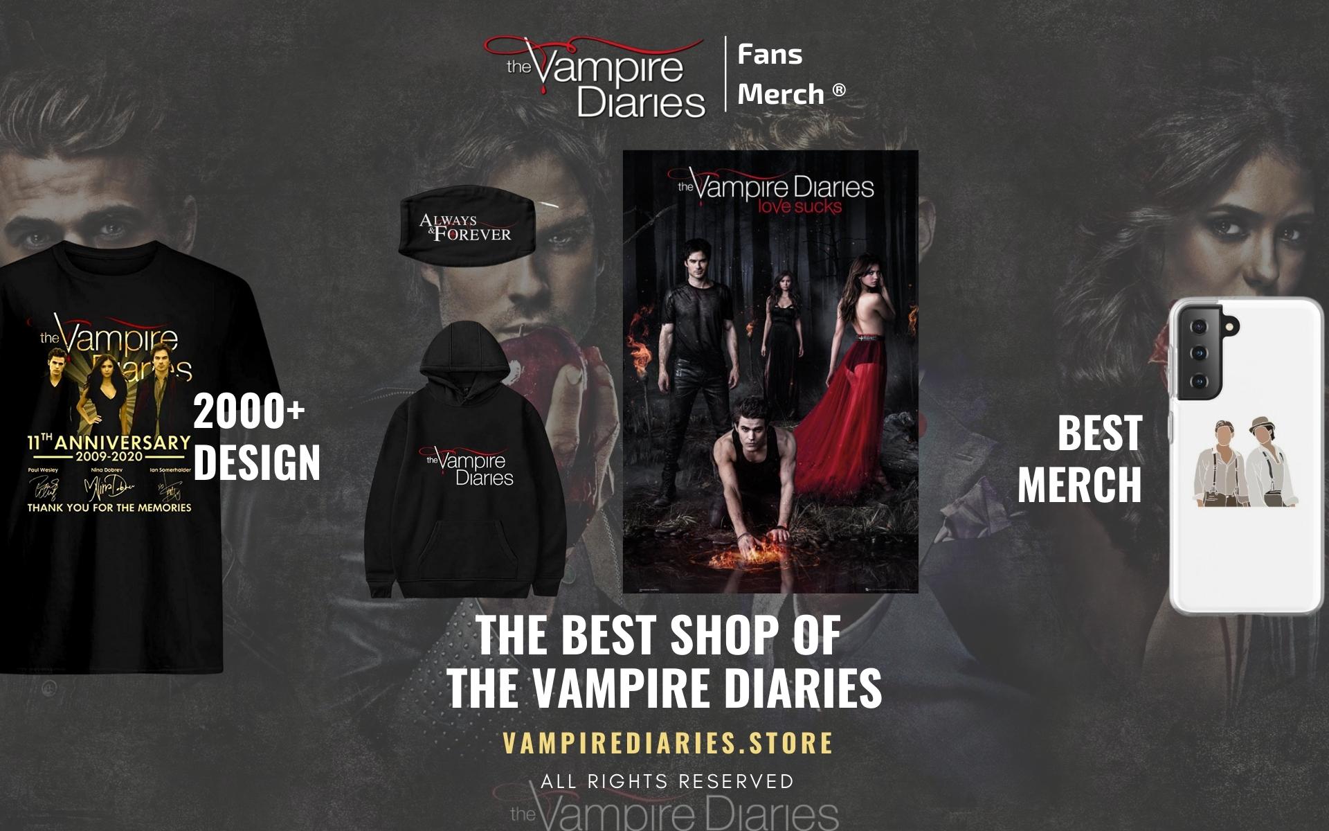 vampire diaries Merch Web Banner - Vampire Diaries Merch