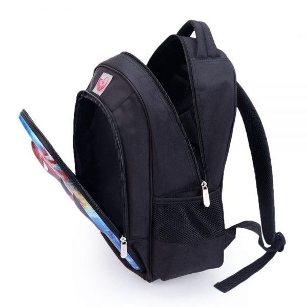 16 Inch Vampire Diaries School Bag for Kids Boys Girls Orthopedic Backpack Children School Sets Pencil 1 - Vampire Diaries Merch