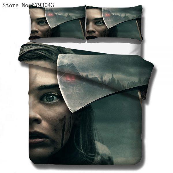 2 3 Pieces The Vampire Diaries Bedding Set 3D Print Film Movie Home Duvet Cover Single - Vampire Diaries Merch