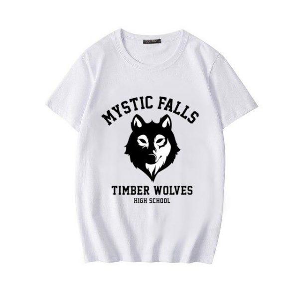 The Vampire Diaries - White / XL Official Vampire Diaries Merch