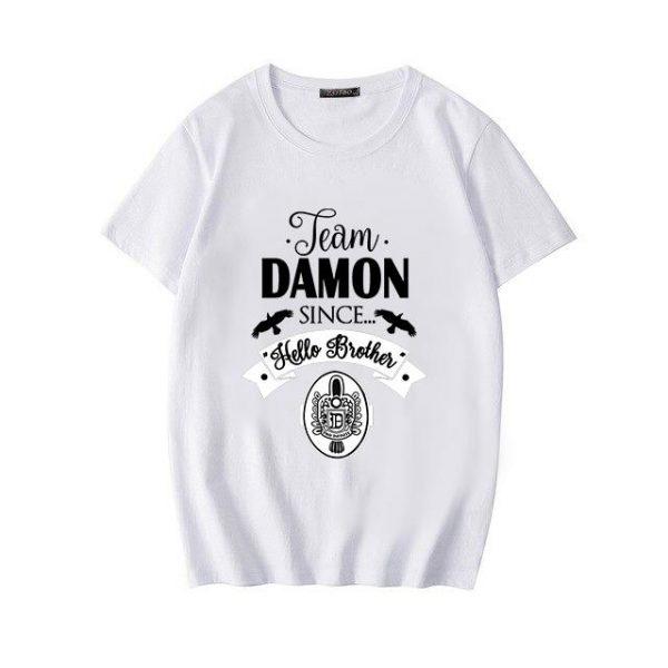 The Vampire Diaries - White / L Official Vampire Diaries Merch