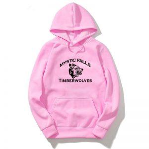Mystic Falls - Hoodies VPD0109 White / S Official Vampire Diaries Merch