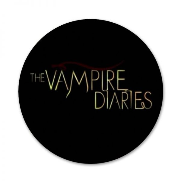 Always and Forever The Vampire Diaries Icons Pins Badge Decoration Brooches Metal Badges For Clothes Backpack 5 - Vampire Diaries Merch