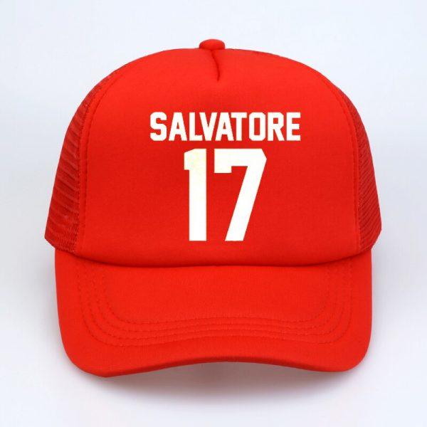 Casual Salvatore 17 Baseball Caps Year Of Birth Vampire Diaries Mystic Falls summer Men Women Baseball 2 - Vampire Diaries Merch