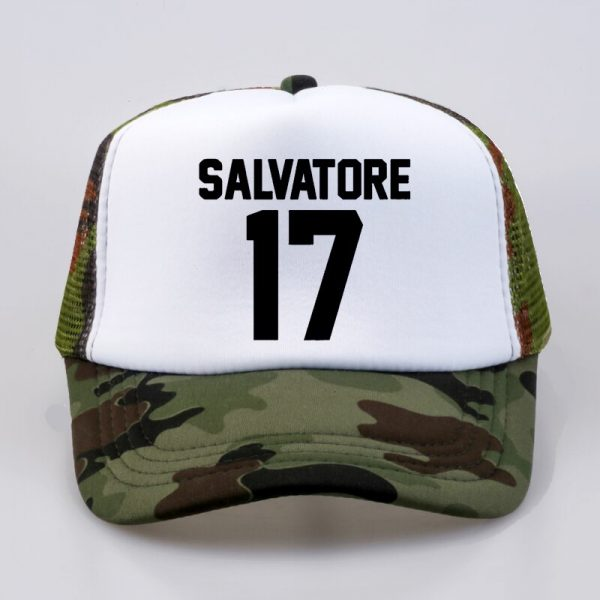 Casual Salvatore 17 Baseball Caps Year Of Birth Vampire Diaries Mystic Falls summer Men Women Baseball 3 - Vampire Diaries Merch