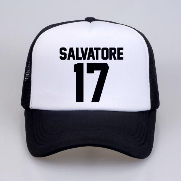 Casual Salvatore 17 Baseball Caps Year Of Birth Vampire Diaries Mystic Falls summer Men Women Baseball - Vampire Diaries Merch