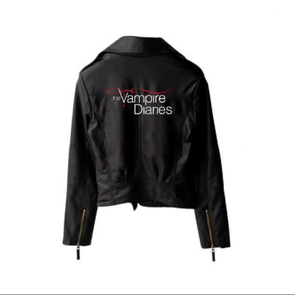 Custom The Vampire DiariesJackets WomenLong Sleeve nbsp Autumn Winter The Vampire Diaries Outwear - Vampire Diaries Merch