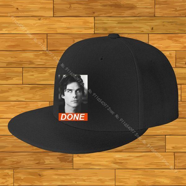 Damon Salvatore The Vampire Diaries Chronicles Vampiricas Show Ti Women Caps Cap For Boy Woman Hats - Vampire Diaries Merch