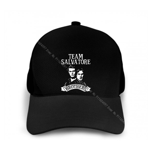 Damon Salvatore The Vampire Diaries Stefan Salvatore For Sun Cap Men S Caps Sun Caps Men - Vampire Diaries Merch