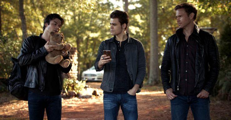 Damon Stefan Alaric Teddy Bear - Vampire Diaries Merch