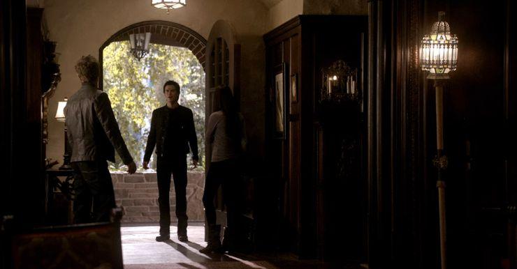 Damon Stefan Elena - Vampire Diaries Merch