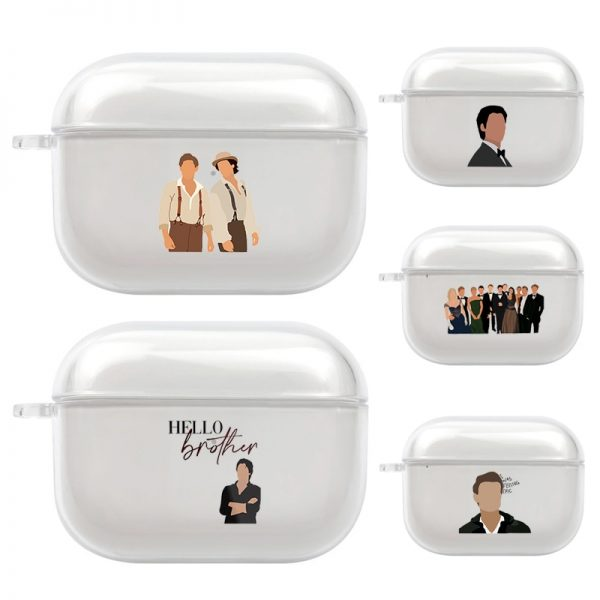 Damon Stefan Vampire Diaries TPU Cover Case For AirPods Pro Case Bluetooth Case For Airpod 3 - Vampire Diaries Merch