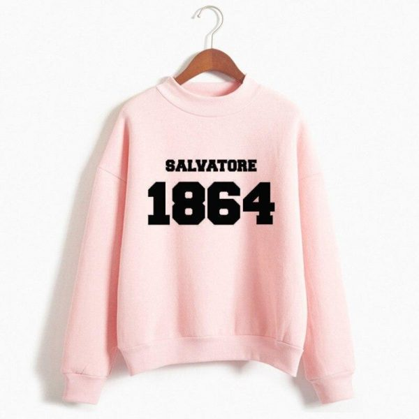 Sweatshirts - Stefan VPD0109 1864 - Pink / S Official Vampire Diaries Merch