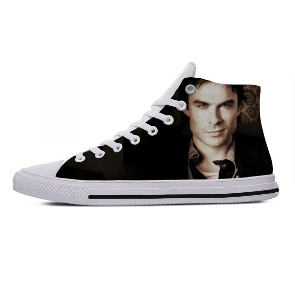 Hot Cool Fashion Summer High Quality Sneakers Handiness Casual Shoes 3D Printed For Men Women The 1 - Vampire Diaries Merch