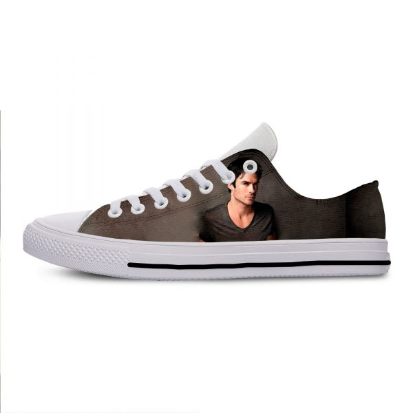 Hot Cool Fashion Summer High Quality Sneakers Handiness Casual Shoes 3D Printed For Men Women The 12 - Vampire Diaries Merch