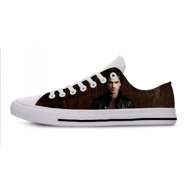 Hot Cool Fashion Summer High Quality Sneakers Handiness Casual Shoes 3D Printed For Men Women The 13 - Vampire Diaries Merch