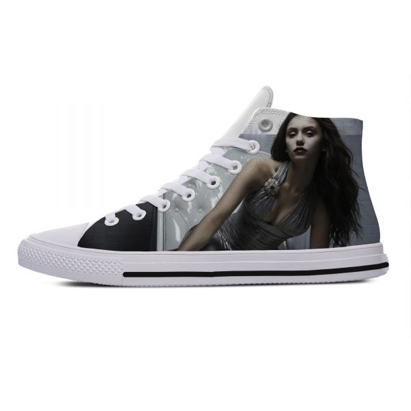 Hot Cool Fashion Summer High Quality Sneakers Handiness Casual Shoes 3D Printed For Men Women The 2 - Vampire Diaries Merch