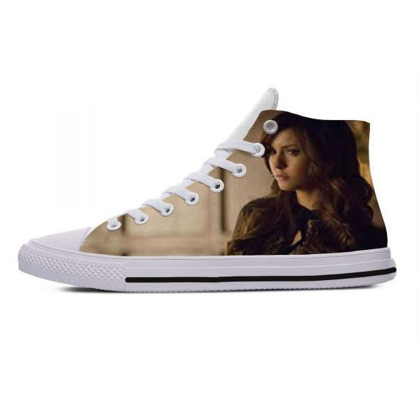 Hot Cool Fashion Summer High Quality Sneakers Handiness Casual Shoes 3D Printed For Men Women The 3 - Vampire Diaries Merch