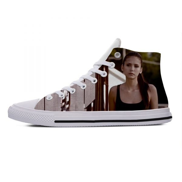 Hot Cool Fashion Summer High Quality Sneakers Handiness Casual Shoes 3D Printed For Men Women The 4 - Vampire Diaries Merch