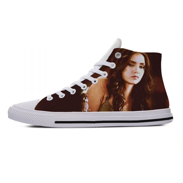 Hot Cool Fashion Summer High Quality Sneakers Handiness Casual Shoes 3D Printed For Men Women The 5 - Vampire Diaries Merch