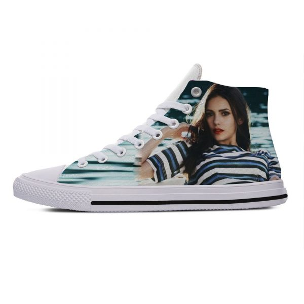 Hot Cool Fashion Summer High Quality Sneakers Handiness Casual Shoes 3D Printed For Men Women The - Vampire Diaries Merch