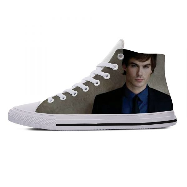 Hot Cool Fashion Summer High Quality Sneakers Handiness Casual Shoes 3D Printed For Men Women The 9 - Vampire Diaries Merch