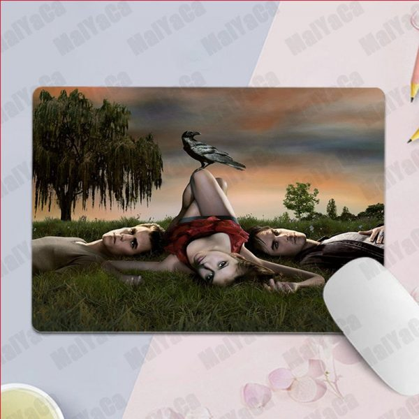 MaiYaCa Non Slip PC Ian Somerhalder The Vampire Diaries Silicone Pad to Mouse Game Top Selling 2 - Vampire Diaries Merch