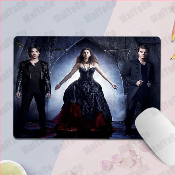 MaiYaCa Non Slip PC Ian Somerhalder The Vampire Diaries Silicone Pad to Mouse Game Top Selling 3 - Vampire Diaries Merch