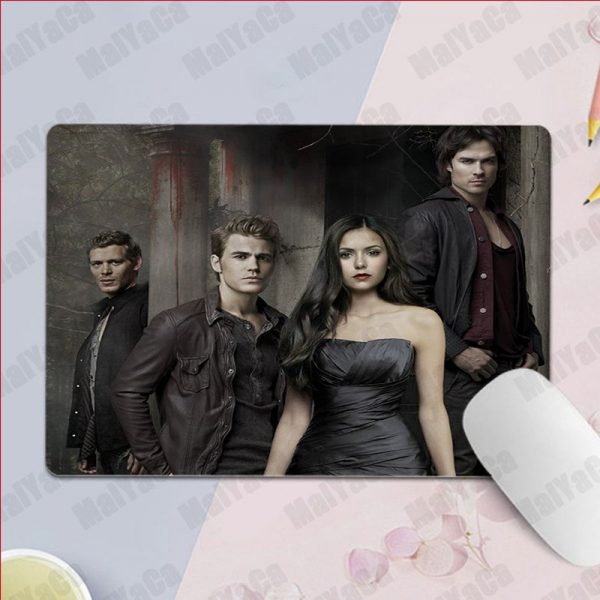 MaiYaCa Non Slip PC Ian Somerhalder The Vampire Diaries Silicone Pad to Mouse Game Top Selling 5 - Vampire Diaries Merch
