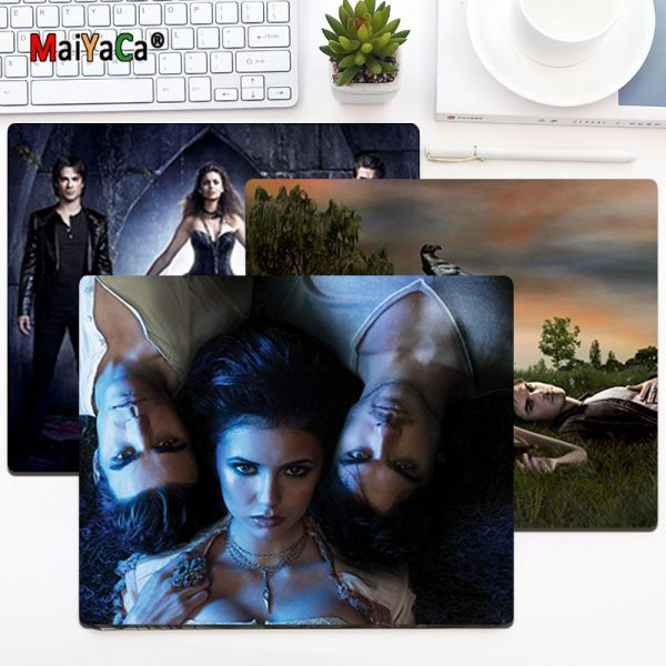 MaiYaCa Non Slip PC Ian Somerhalder The Vampire Diaries Silicone Pad to Mouse Game Top Selling - Vampire Diaries Merch