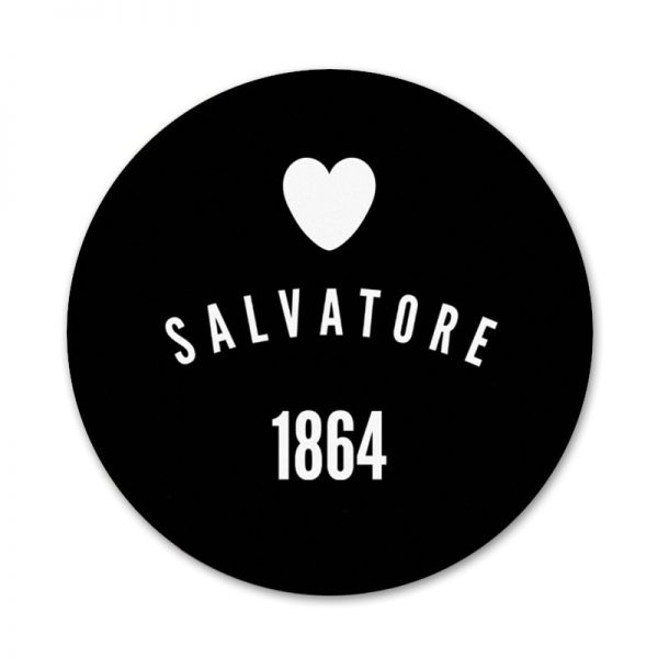 New ArrivalThe Vampire Diaries Damon Salvatore Badge Brooch Pin Accessories For Clothes Backpack Decoration gift 1 - Vampire Diaries Merch