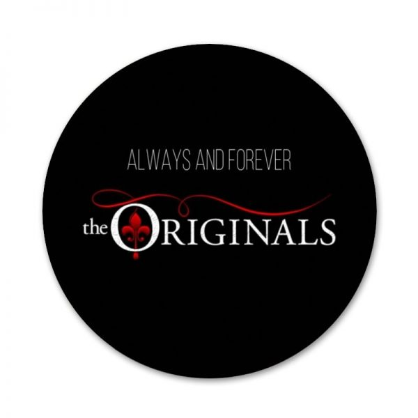 The Originals Vampire Diaries Badge Brooch Pin Accessories For Clothes Backpack Decoration gift 4 - Vampire Diaries Merch