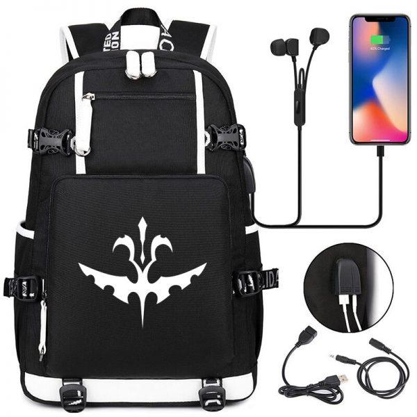 The Vampire Diaries Backpack Students School Bags Cool New Pattern Knapsack for Men Women Teens Bookbag 3 - Vampire Diaries Merch