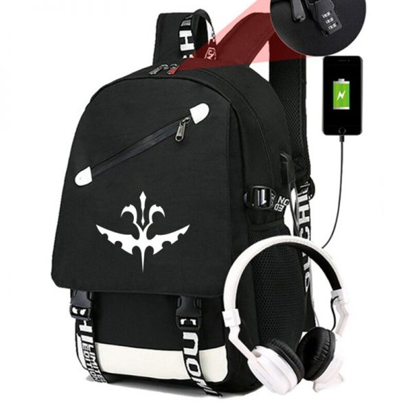 The Vampire Diaries Backpack Students School Bags Cool New Pattern Knapsack for Men Women Teens Bookbag 5 - Vampire Diaries Merch