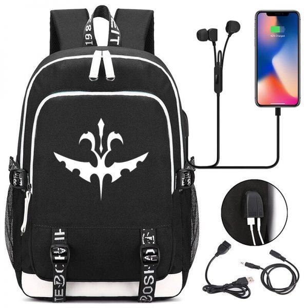 The Vampire Diaries Backpack Students School Bags Cool New Pattern Knapsack for Men Women Teens Bookbag - Vampire Diaries Merch