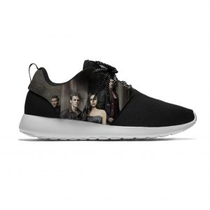 The Vampire Diaries Damon Salvatore Fashion Funny Sport Running Shoes Casual Breathable Lightweight 3D Print Men - Vampire Diaries Merch