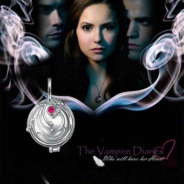 The Vampire Diaries Elena Vervain Necklace S925 Sterling Vampirina Pendant Women Girls Jewelry Necklace Birthday Gifts 1 - Vampire Diaries Merch