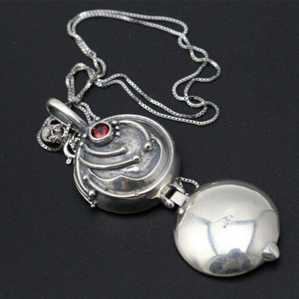 The Vampire Diaries Elena Vervain Necklace S925 Sterling Vampirina Pendant Women Girls Jewelry Necklace Birthday Gifts 3 - Vampire Diaries Merch