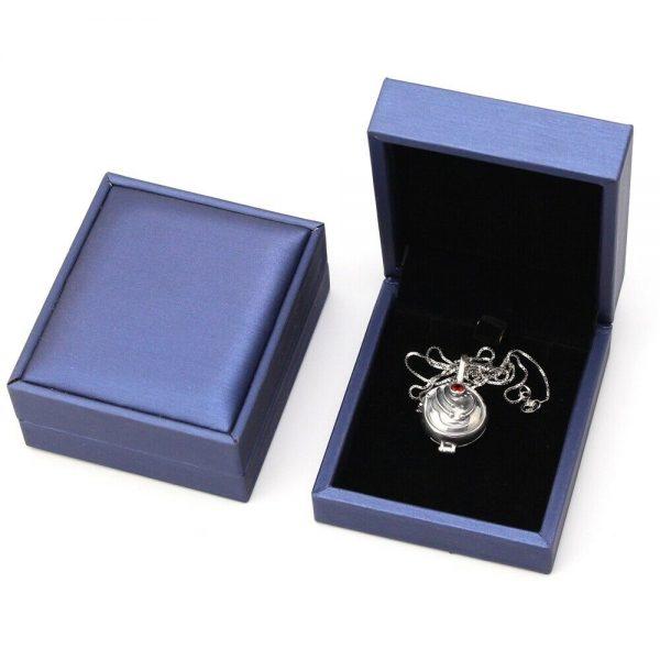 The Vampire Diaries Elena Vervain Necklace S925 Sterling Vampirina Pendant Women Girls Jewelry Necklace Birthday Gifts 5 - Vampire Diaries Merch