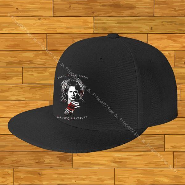 The Vampire Diaries From Us Motorcycle Cap Fashion Male Women S Baseball Cap Man Cap Cap - Vampire Diaries Merch