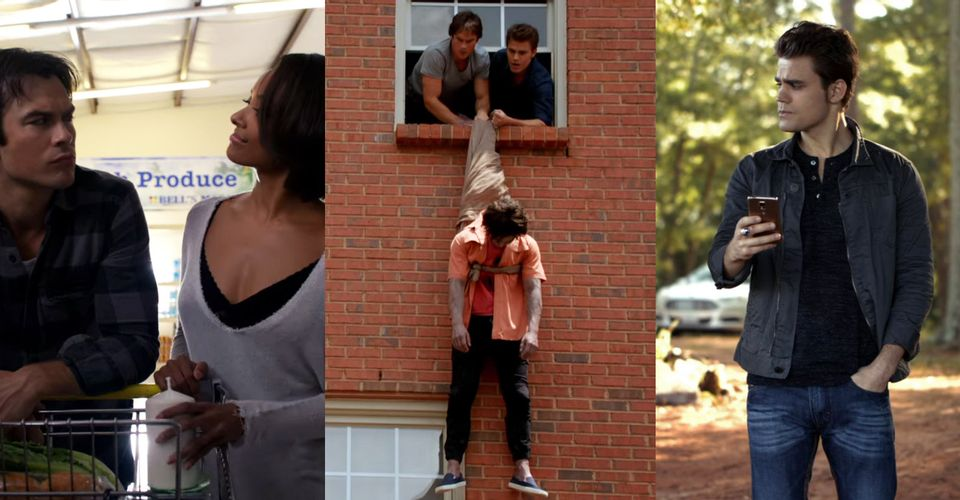 The Vampire Diaries Funniest Moments 1 - Vampire Diaries Merch