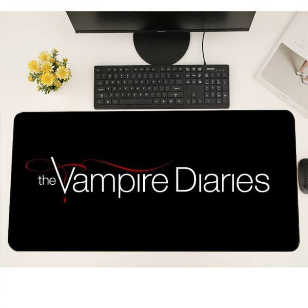 The Vampire Diaries Gaming mousepad XL Large Gamer Soft Keyboard PC Desk Mat Takuo Anti Slip 3 - Vampire Diaries Merch