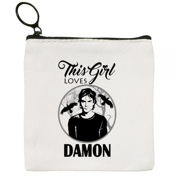 The Vampire Diaries Harajuku Graphic Canvas Coin Purse Coin Purse Collection Canvas Bag Small Wallet Zipper 4 - Vampire Diaries Merch