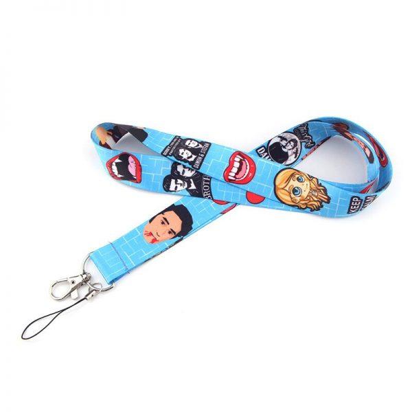 The Vampire Diaries Keychain Lanyard Neck Strap for Key ID Card Straps Badge Holder DIY Hanging 5 - Vampire Diaries Merch