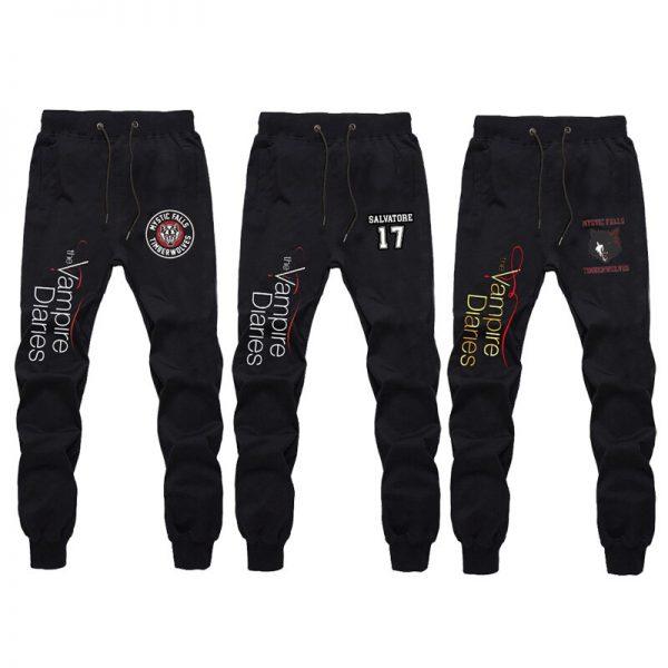 The Vampire Diaries Pants Unisex Sport Pants Casual Sweatpants Men Women Trousers Breathable Long Pants Teens 1 - Vampire Diaries Merch
