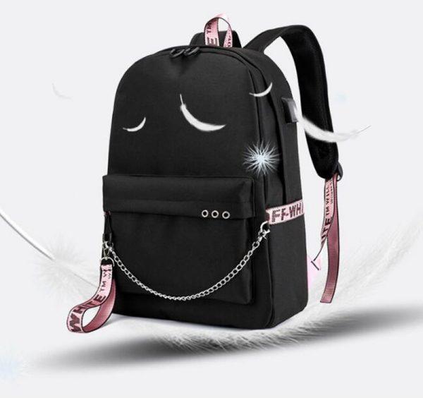 The Vampire Diaries Print Backpack for Women School Shoulder Bag Bagpack for Teenage Girls Female Travel - Vampire Diaries Merch