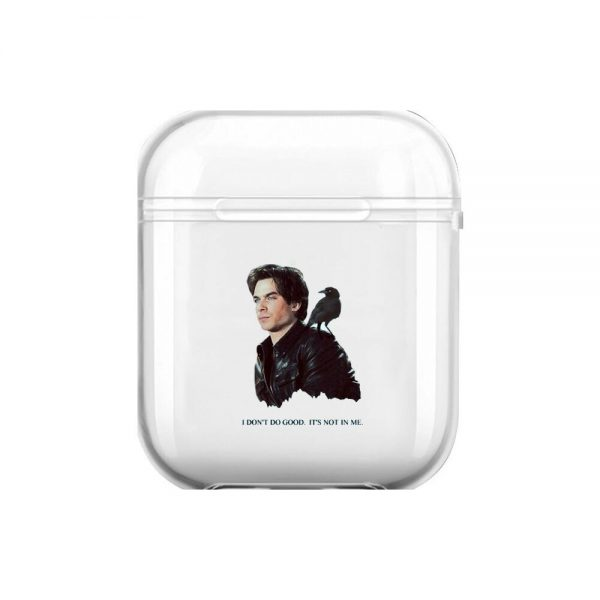 The Vampire Diaries Soft Silicone Cases For Airpods 1 2 Protective Bluetooth Wireless Earphone Cover For 1 - Vampire Diaries Merch