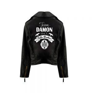 Leather Jacket - Diaries VPD0109 Vampire Diaries / XS Official Vampire Diaries Merch