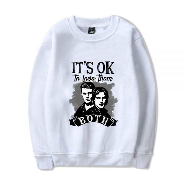 Both - Sweatshirts VPD0109 Salvator / S Official Vampire Diaries Merch